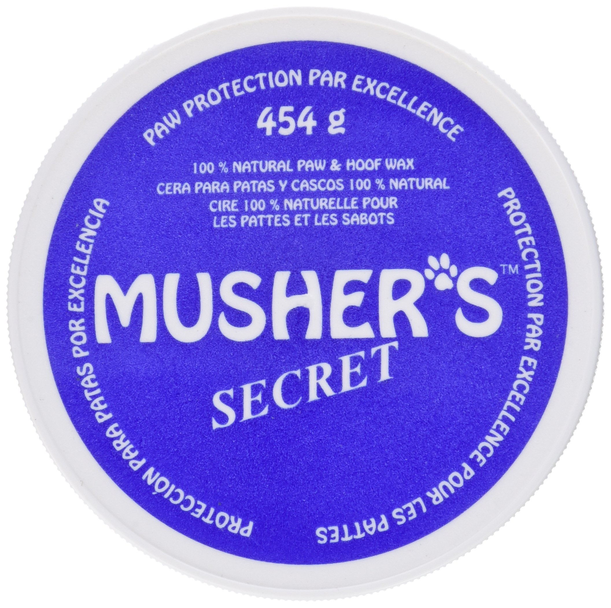 Musher's Secret Pet Paw Protection Wax, 1-Pound by Mushers