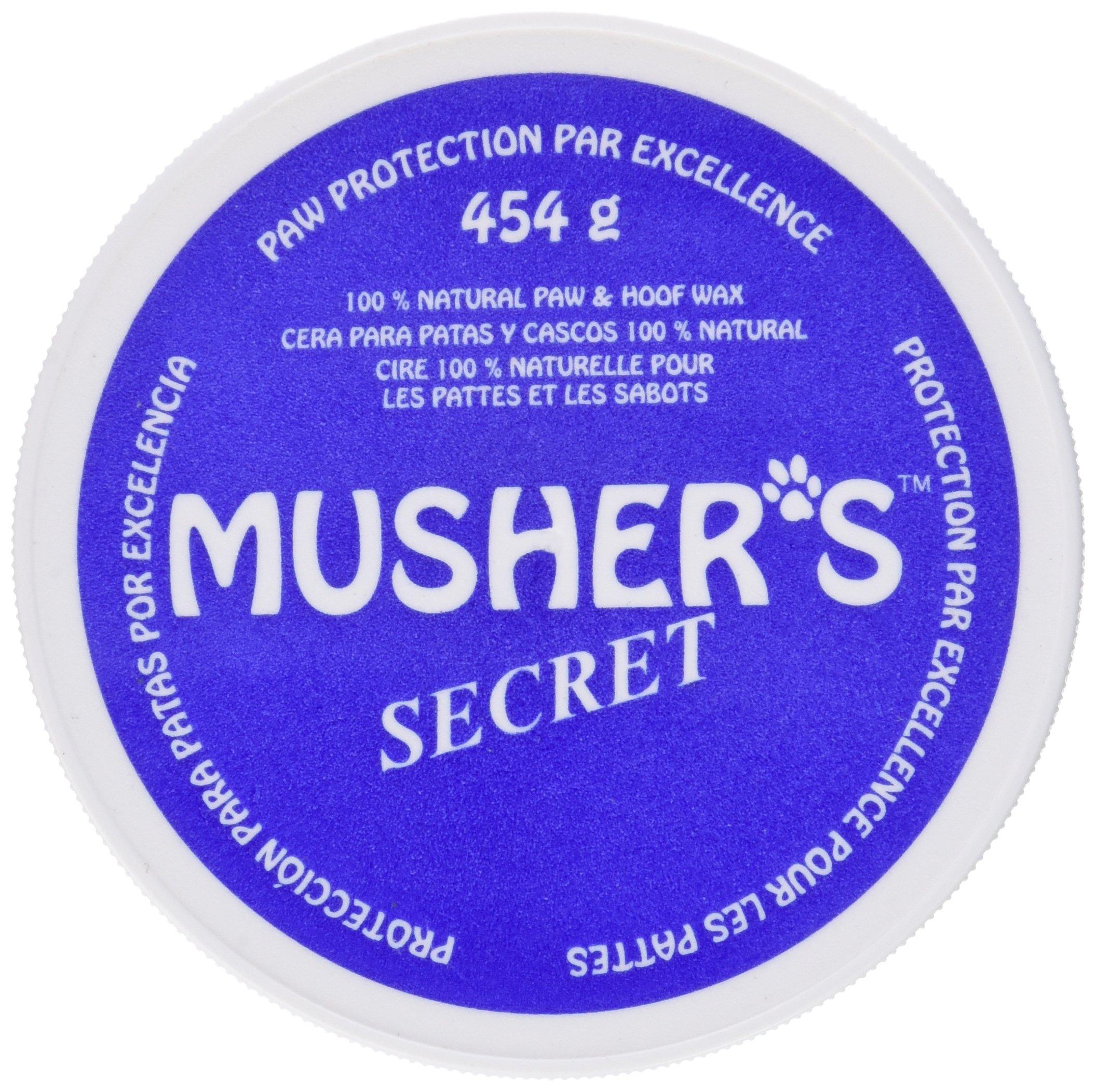 Musher's Secret Pet Paw Protection Wax, 1-Pound