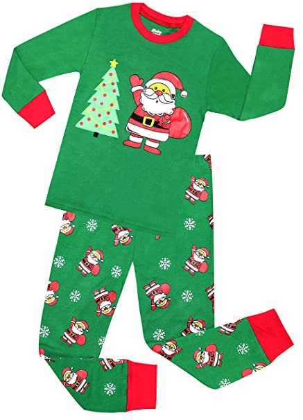 Amazon.com: shelry Girls Pajamas Children Christmas Gift Set Kids ...