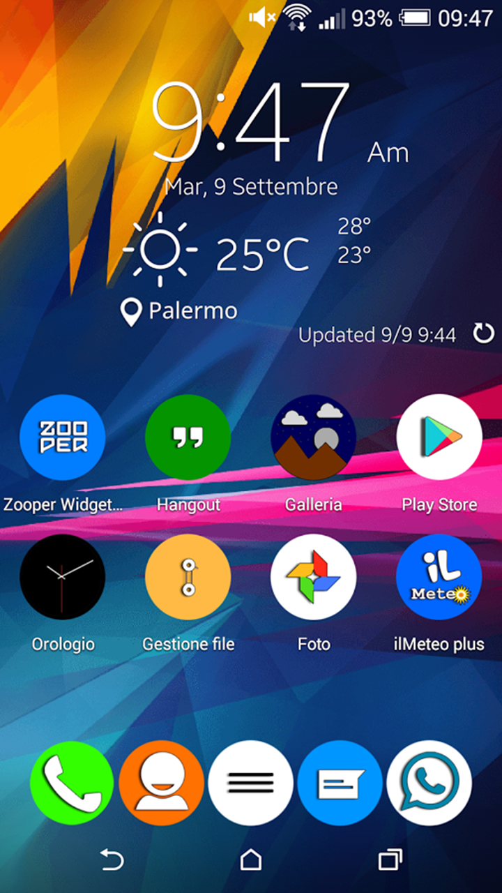 Galaxy Note 4 Zooper Widget Skins