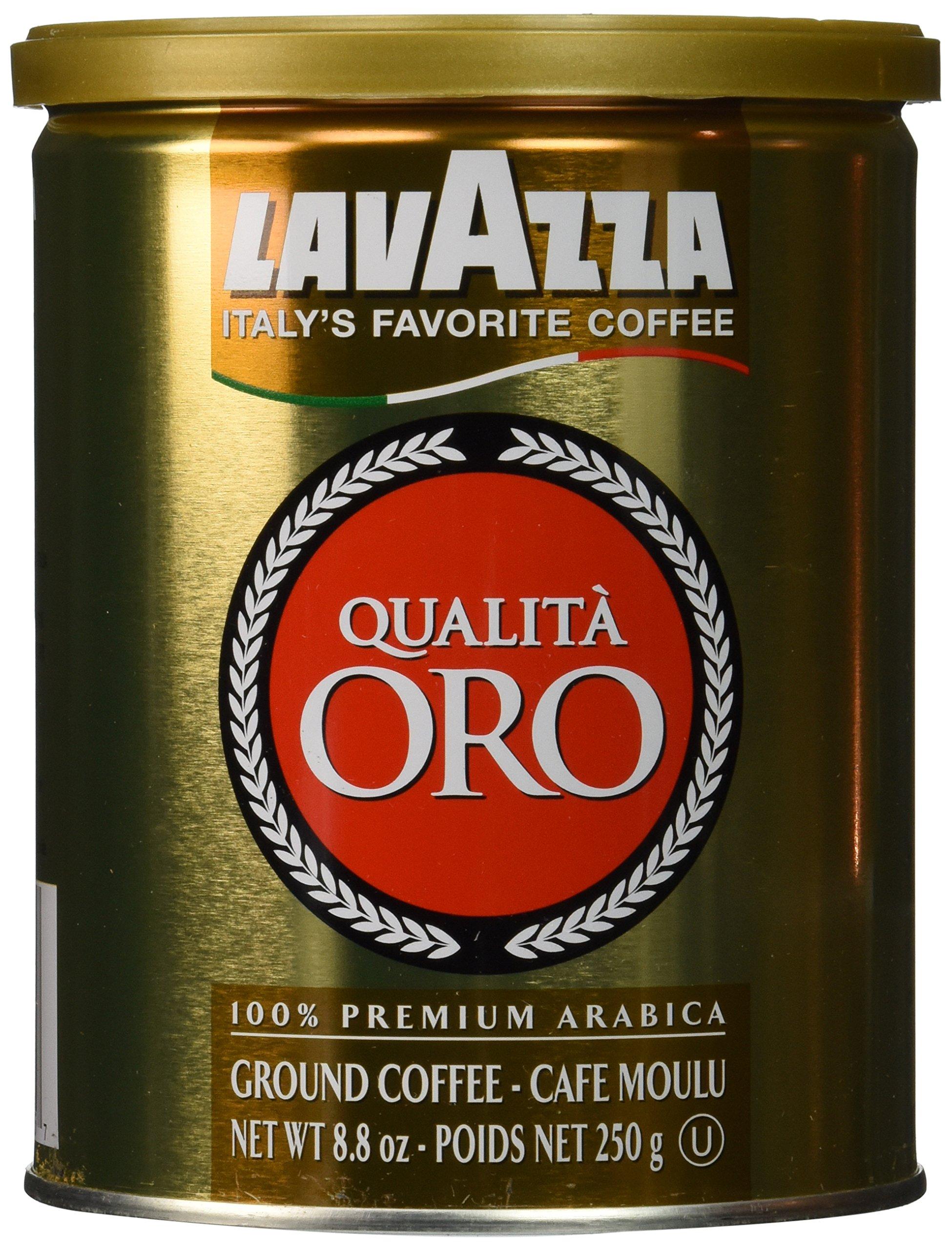 Espresso 100 percent Arabica Qualita Oro (Lavazza), CASE 12x250g