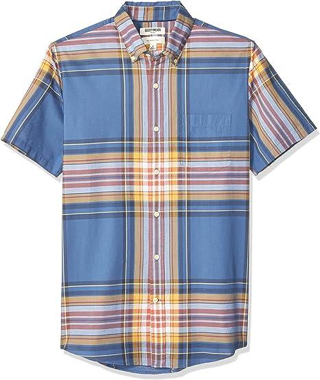 camisa madr/ás de manga larga de ajuste est/ándar para hombre Goodthreads Marca