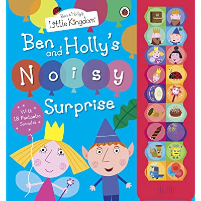 Ben and Hollys Little Kingdom Noisy Surprise an Oversize Sound Book for Little Hands: Toys & Games