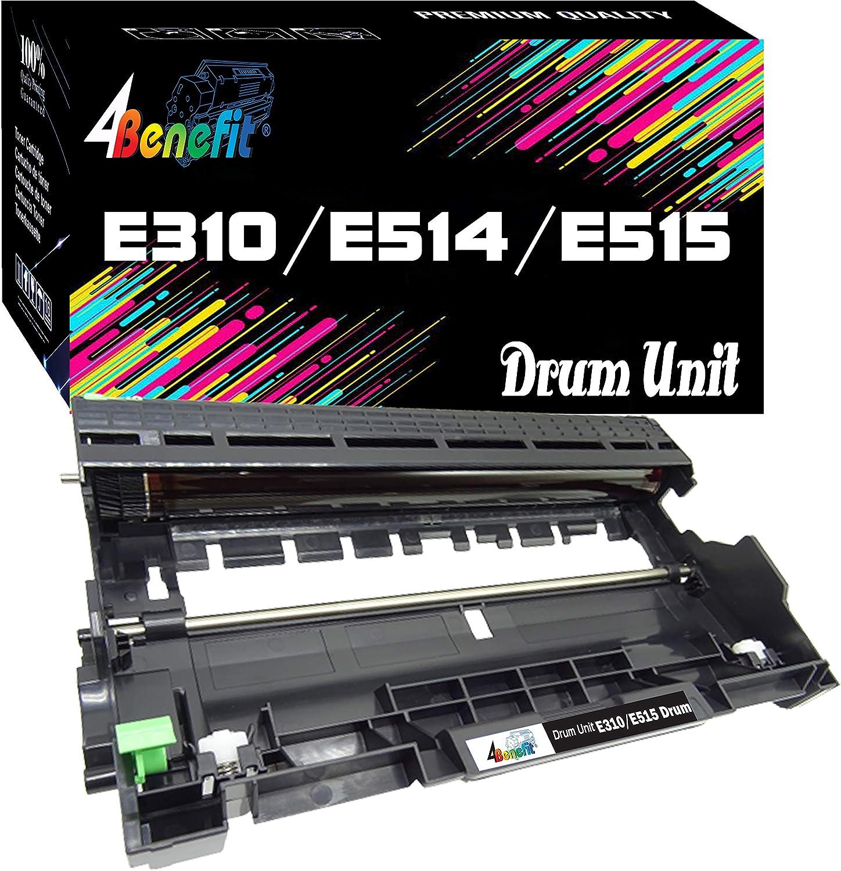 (1-Pack, Drum) 4Benefit Compatible Dell E310dw E310 E514dw E515dw E514 E515dn E515 Drum Unit