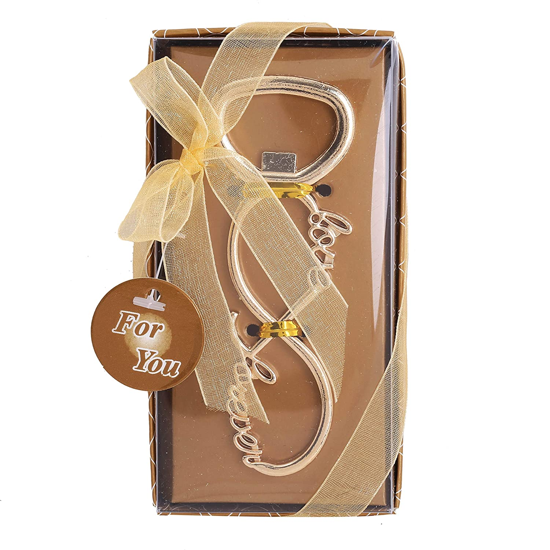 ideal como regalo para invitados 10 unidades. Abridor de botellas con forma de unicornio dorado