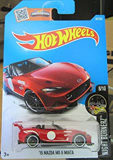 hot wheels 2016 night burnerz 15 mazda mx 5 miata 88250
