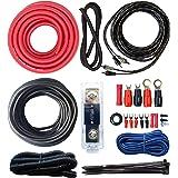 SoundBox 4 Gauge Oxygen Free Copper AWG Amplifier Install Kit Complete Amp Wire
