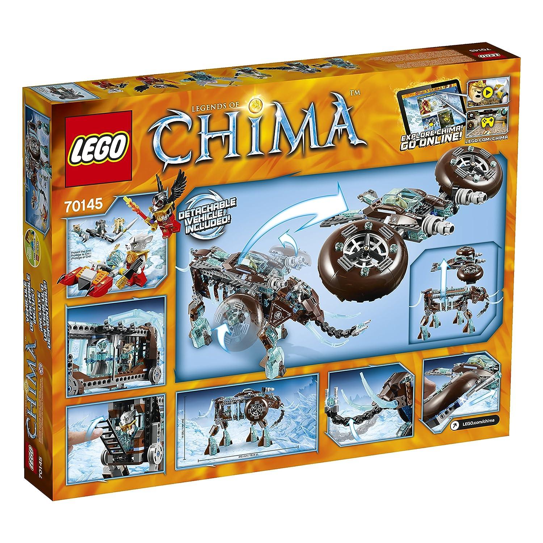 LEGO Chima 70145 Maulas Ice Mammoth Stomper Building Toy 6061486