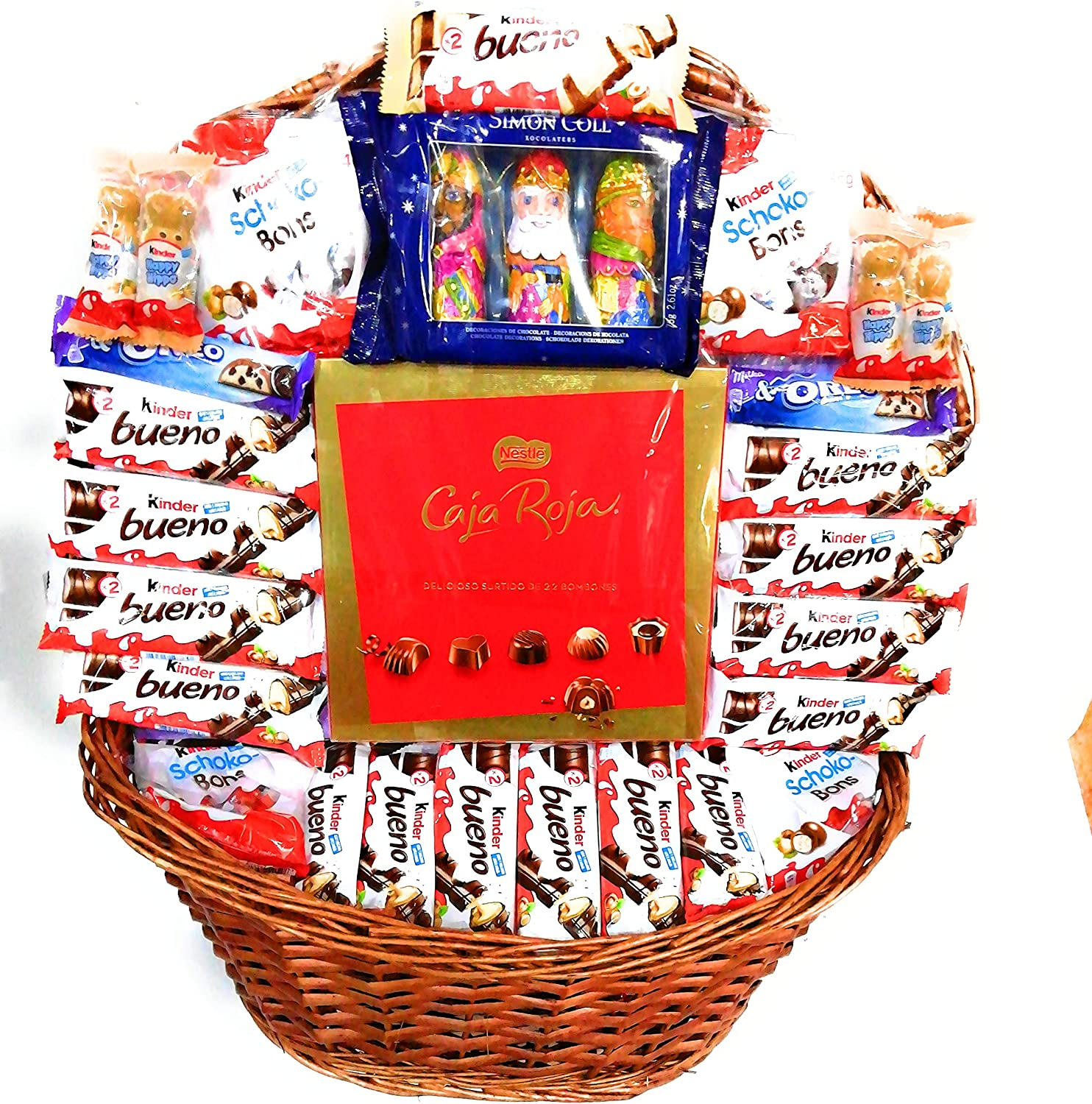 Cesta chocolates kinder: Amazon.es: Alimentación y bebidas