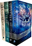 Shatter Me Series Collection 4 Books Set By Tahereh Mafi (Shatter, Restore, Ignite, Unravel)