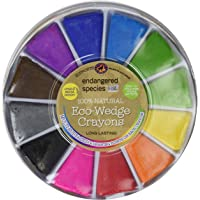 Endangered Species by Sud Smart 100% Natural Eco-Wedge Crayons