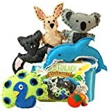 Wild Friends Adventure Sewing & Craft Kit - Kangaroo Koala Dolphin Bat Peacock