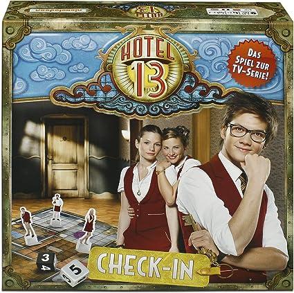 Studio 100 - Juego de tablero Hotel 13, 2 a 4 jugadores ...