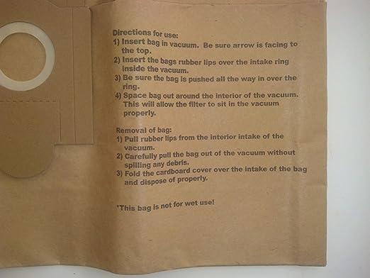 Fein 3 Turbo I 913038K01 Disposable Paper Bags Turbo I Models Generic 3pk.