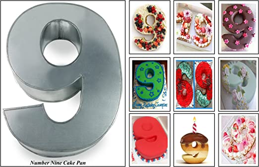Stupendous Amazon Com Euro Tins Numeric Cake Pan 35Cm Birthday Cake Tin Personalised Birthday Cards Cominlily Jamesorg