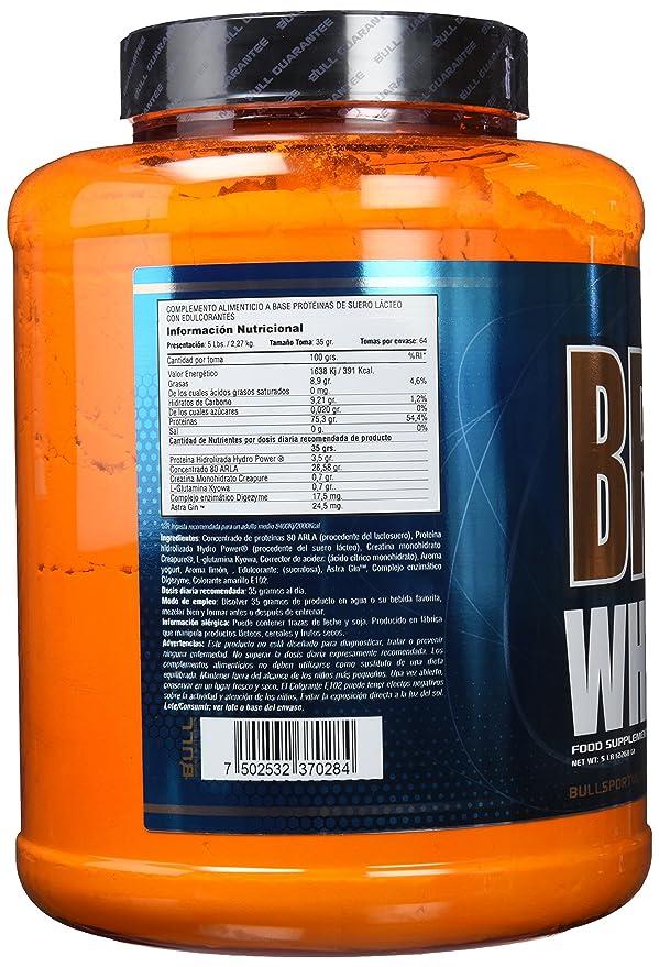 Bull Sport Nutrition Brave Whey Proteínas de Suero de Leche (Limón) - 2270 gr