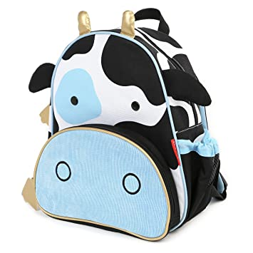 4cac89a8f3 Image Unavailable. Image not available for. Color  Skip Hop Cow Toddler  Backpack