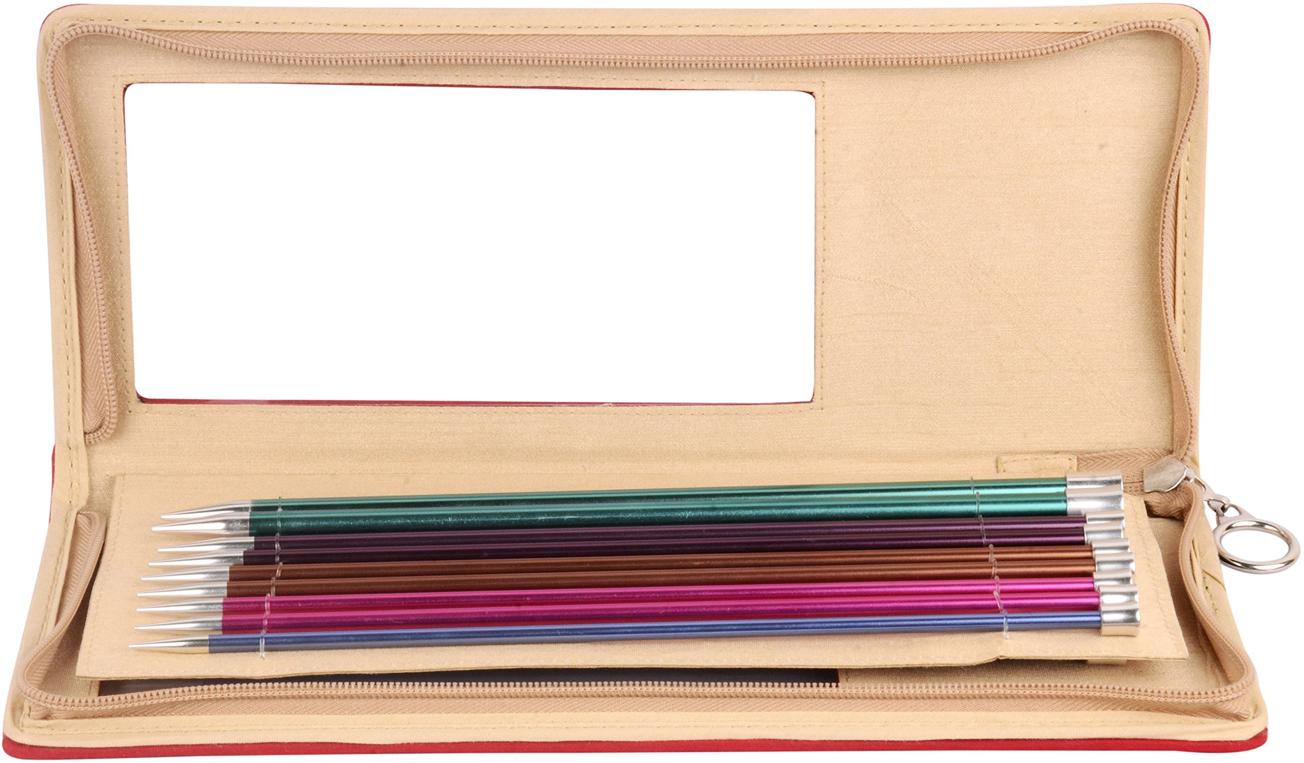 Knitter's Pride KP140305 Zing Straight Needles Set 14'', Assorted
