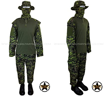 Amazon.com: Tactical Trooper Kit – Canadá Ejército Camuflaje ...