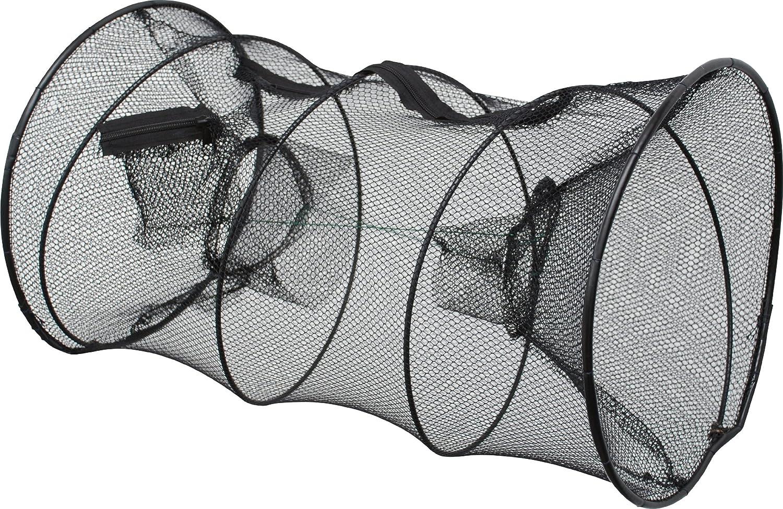 Zebco Netze und Landungshilfen K/öderfischreusen Baitfish Net Round Retel para Pesca Color Multicolor