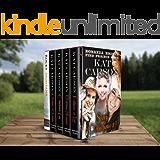 Mail Order Bride: Bonanza Brides Find Prairie Love Box Set #3: Historical Clean Western River Ranch Romance