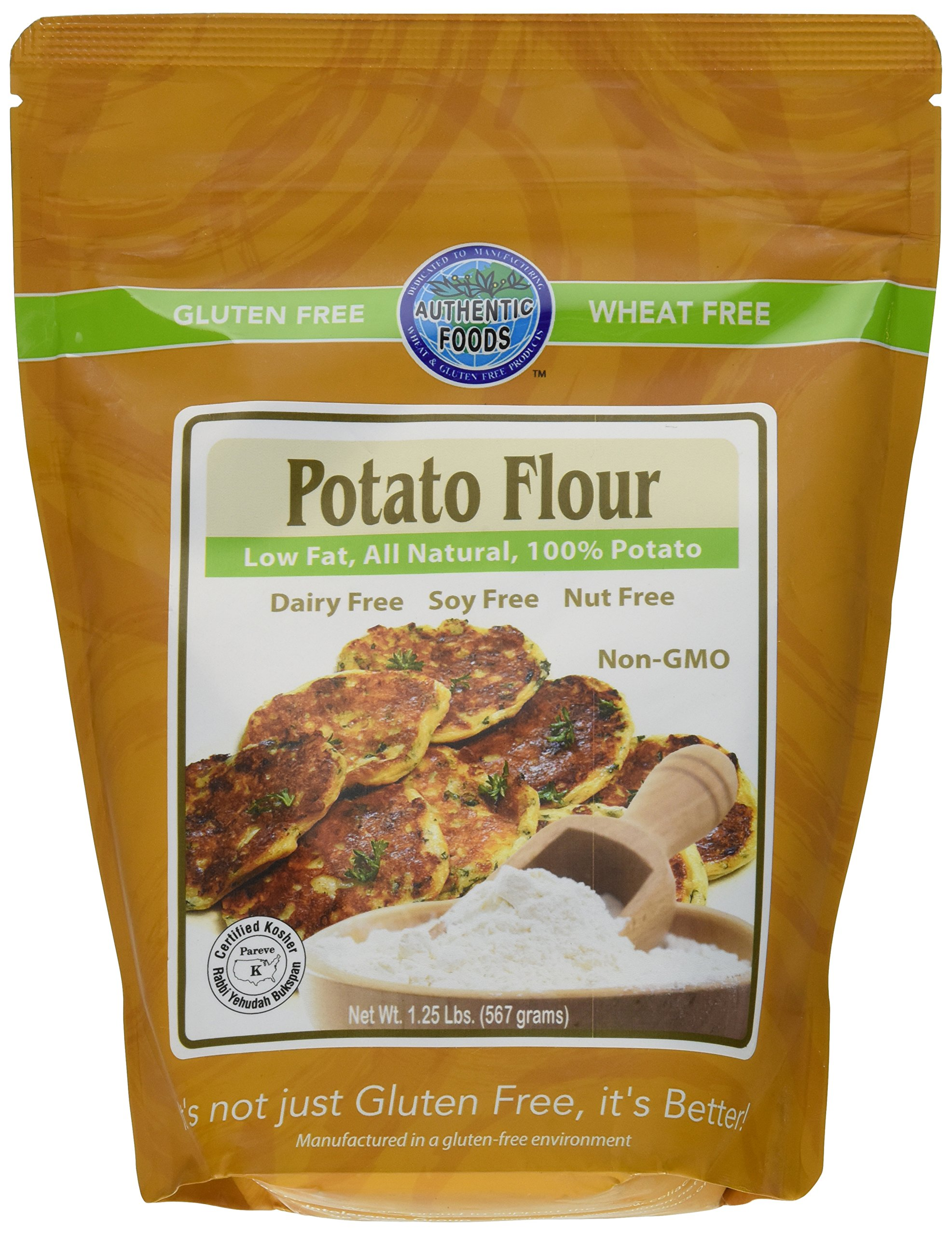 Authentic Foods Potato Flour, 1.25 Pound