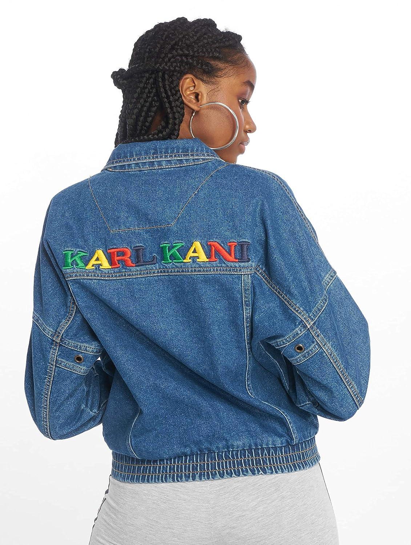 Karl Kani - Chaqueta Deportiva - para Mujer Azul L: Amazon ...