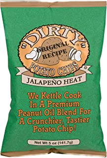 product image for Dirty Potato Chips Kettle Chips, Jalapeno Heat, 5 oz.