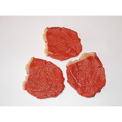 3Rohe bovins attrappen à steak–metzgerei imitation imitation 2. Choix, Food, décoration, les aliments factice, Théâtre Requisite, une scène de faux en plastique