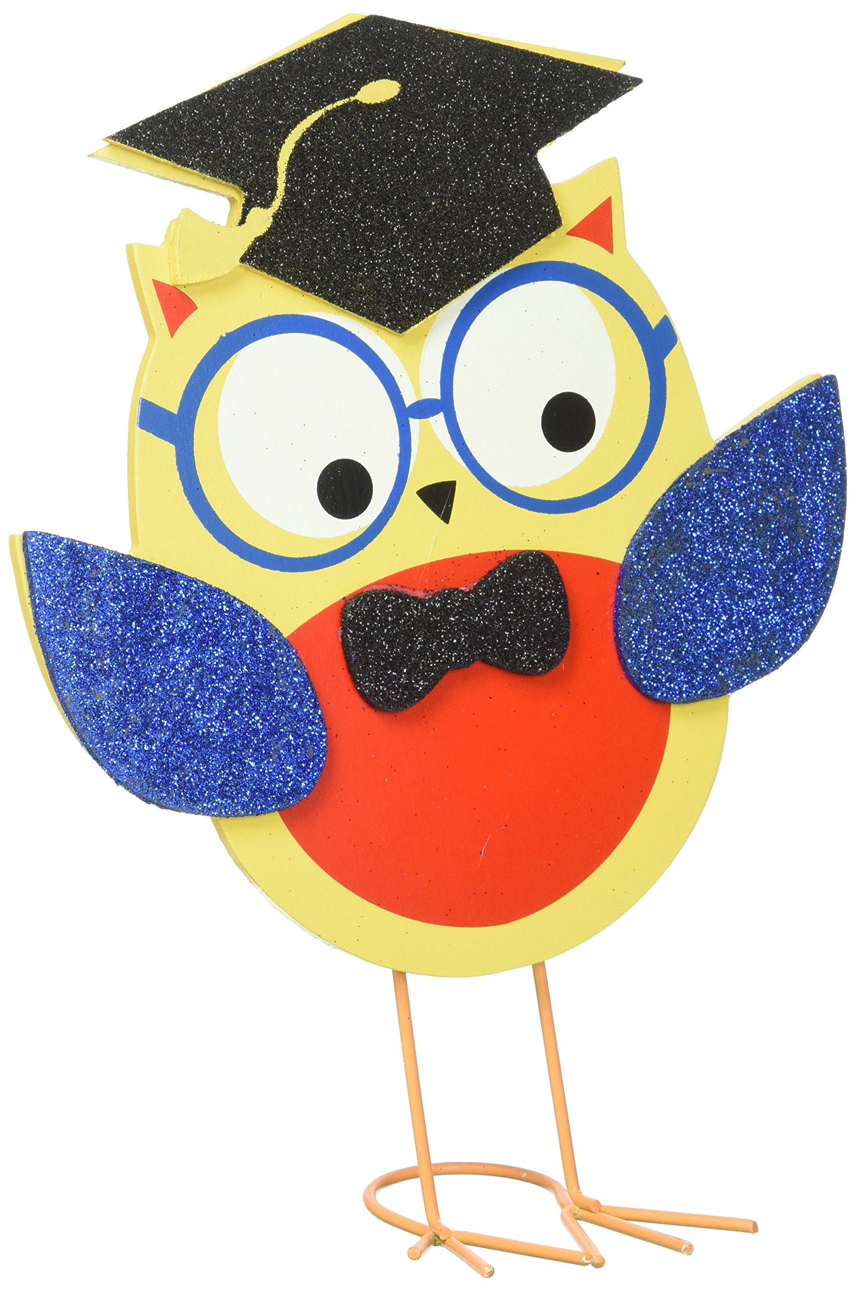 Amscan Grad Owl Centerpiece | Party Favor | 6 Ct. by Amscan (Image #1)