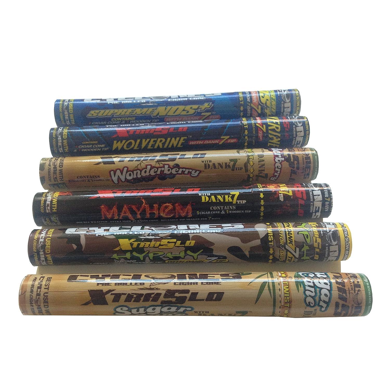 Cicl N Mega Paquete Conos De Cigarros Fumadores Paquete Multi  # Muebles Para Cigarros
