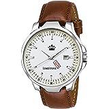 LIMESTONE Quartz Movement Analogue White Dial Men's Watch - LS2730