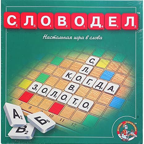 Russian language brand new complete set wooden scrabble tiles 104.