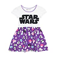 Star Wars Girls' Logo Dress