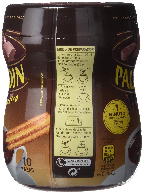 Paladin Chocolate A La Taza - 350 gr: Amazon.es: Alimentación y bebidas