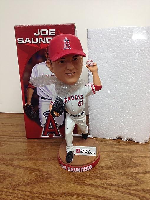a619e78c4ca Joe Saunders Los Angeles California Angels MLB Bobblehead SGA Bobble ...