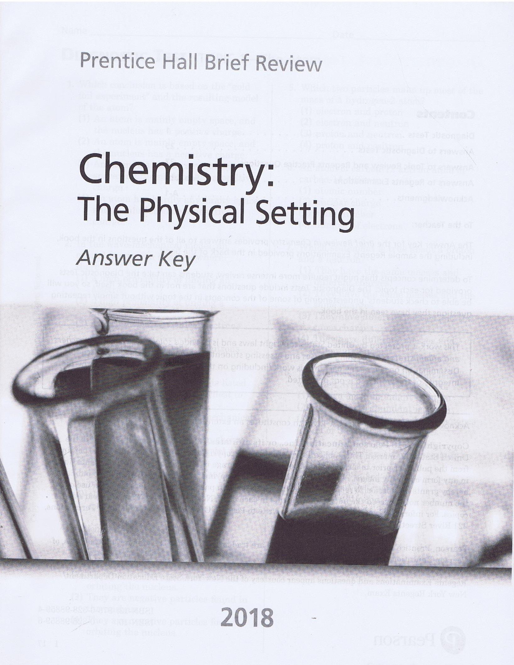 Prentice hall brief review chemistry the physical setting 2018 prentice hall brief review chemistry the physical setting 2018 student book answer key prentice hall 0657687013627 amazon books fandeluxe Choice Image