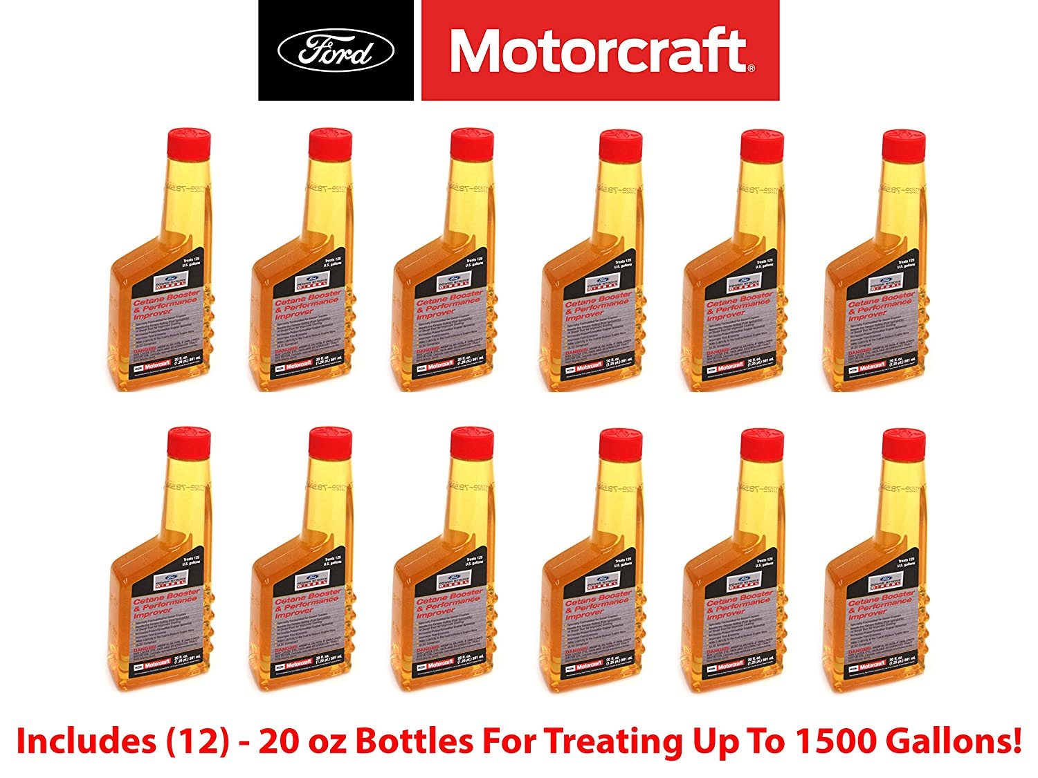 Ford Powerstroke Diesel 6.0L Engine Cetane Booster Performance Improver 12 Pack