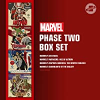 Marvel's Phase Two Box Set: Marvel's Ant-Man; Marvel's Avengers: Age of Ultron; Marvel's Captain America: The Winter…