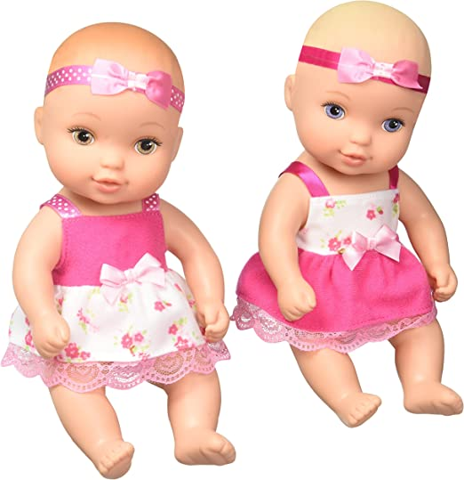 Just Play Waterbabies Twins Baby Puppe: : Spielzeug