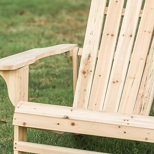 Amazon.com: Patio Festival ® Wooden Double Adirondack Chairs ...