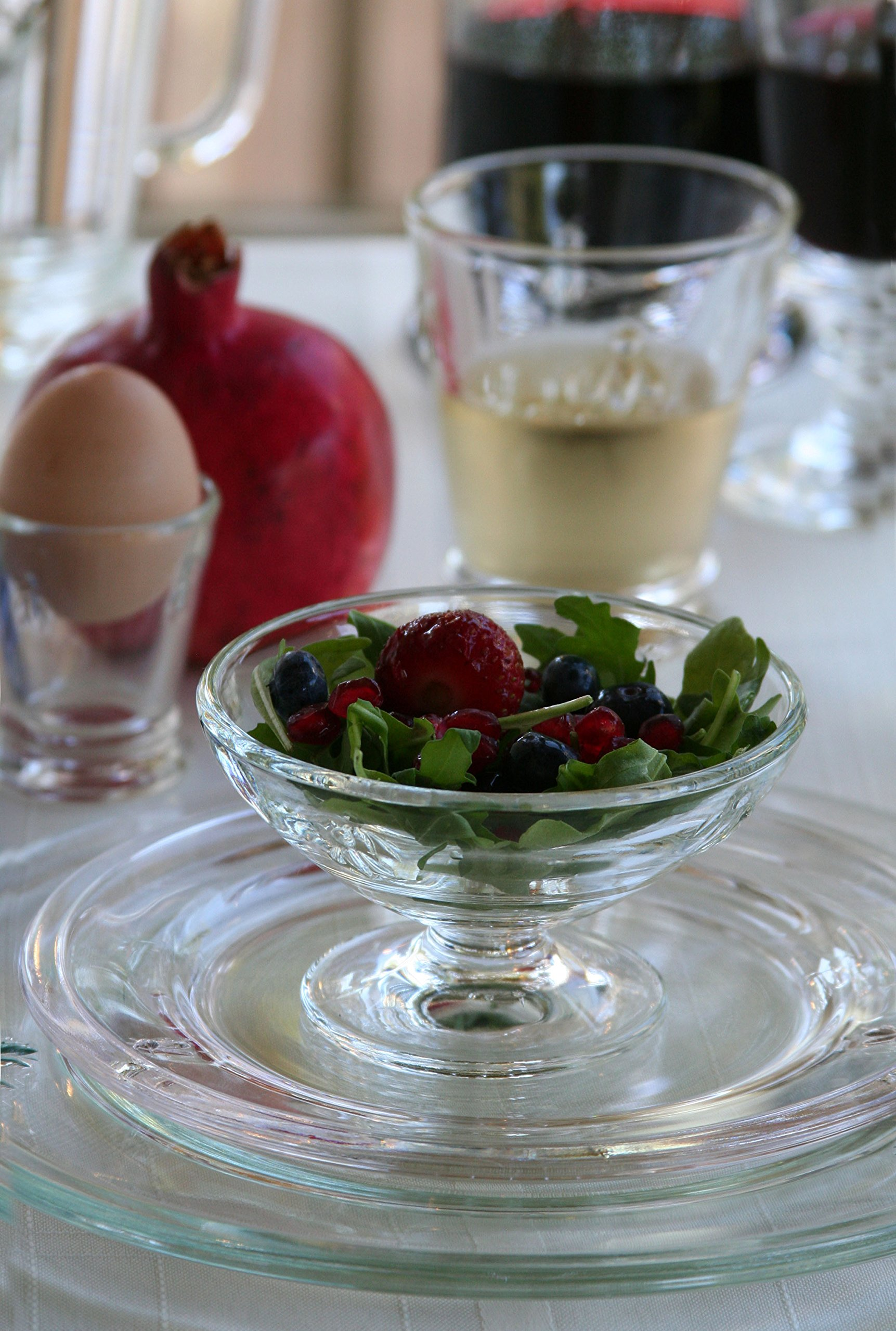 La Rochere Set Of 6, 9.5-inch Napoleon Bee Dinner Plates