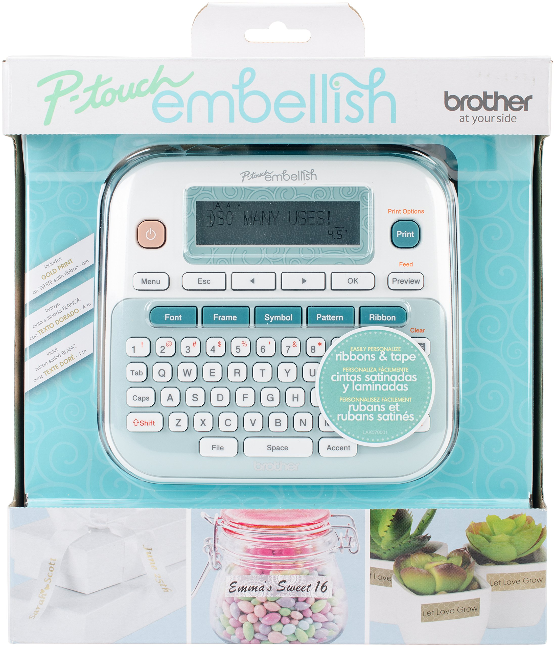 Brother P-touch Ribbon Embellish Machine by P-Touch (Image #1)