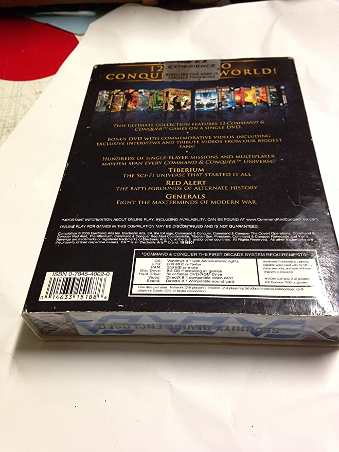 Command & Conquer First Decade - EA Classics (PC DVD