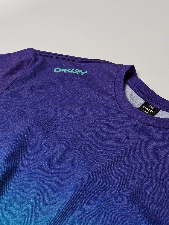 Oakley Mens Iridium Fade tee Camisa, Azul Verdoso, L para Hombre: Amazon.es: Ropa y accesorios