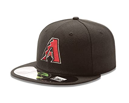 23c680d2366 New Era MLB Arizona Diamondbacks Alternate AC On Field 59Fifty Fitted Cap -700