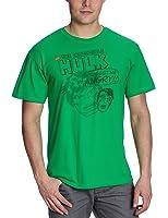 Universal Music Shirts Hulk - Don't Get Me Angry 5710728 Unisex - Erwachsene Shirts/ T-Shirts