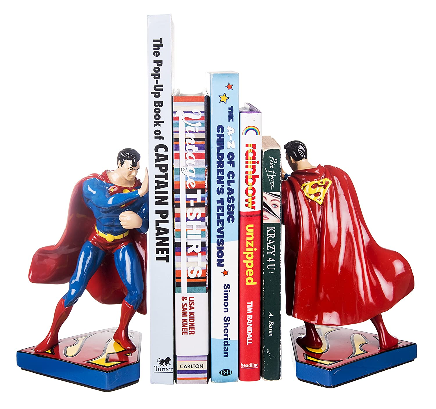 Half Moon Bay DC Comics Superman Figura sujetalibros 3633