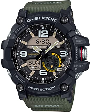 d86354ea60178 Amazon.com  CASIO G-SHOCK MASTER OF G MUDMASTER GG-1000-1A3JF MENS ...