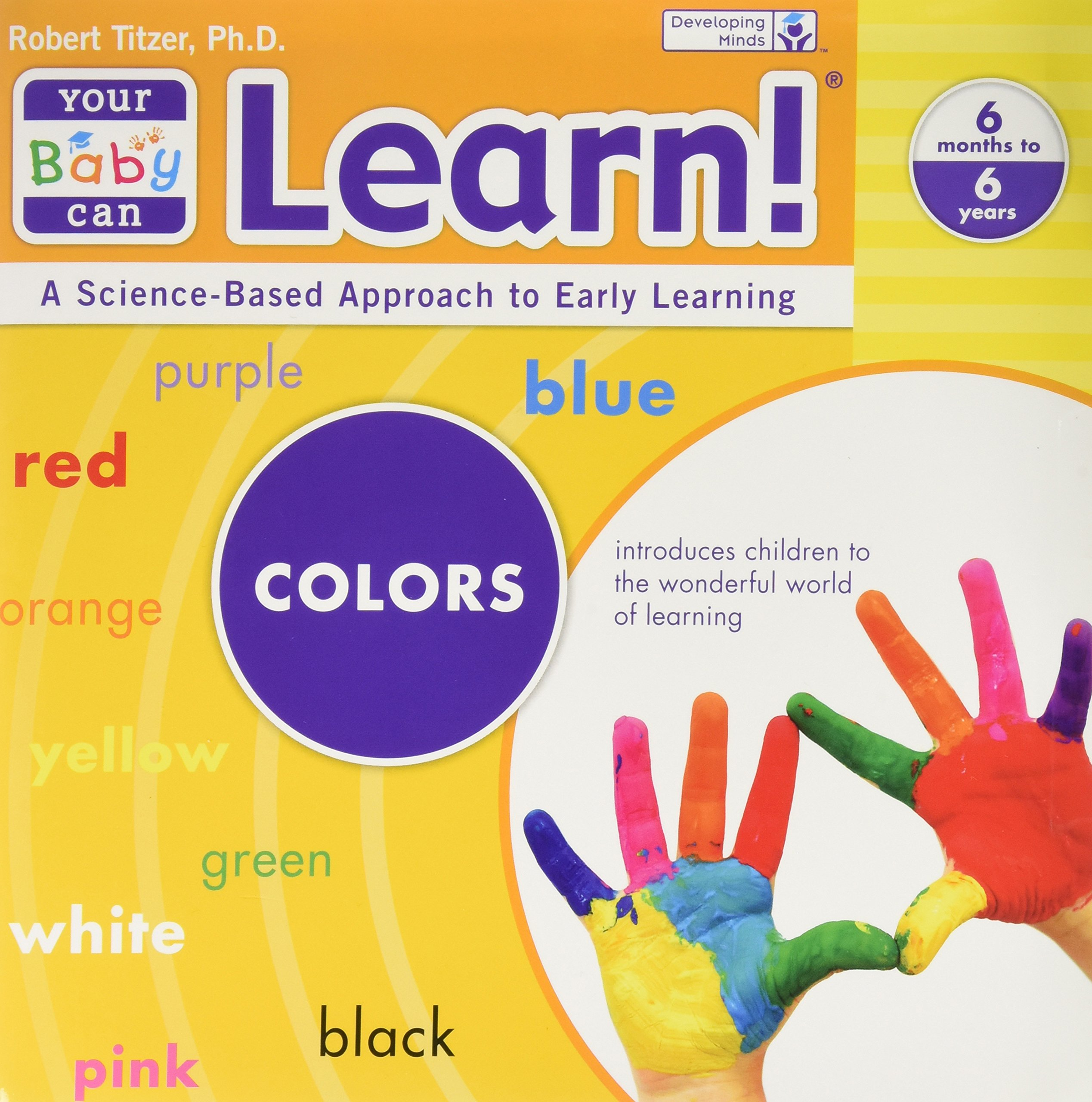 Your Baby Can Learn - 5 Book Set (Early Learning Program, 6 Months to 6 Years) PDF